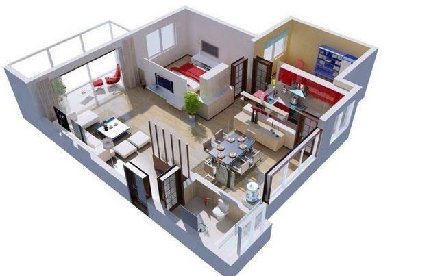 家庭内部3D想法截图3