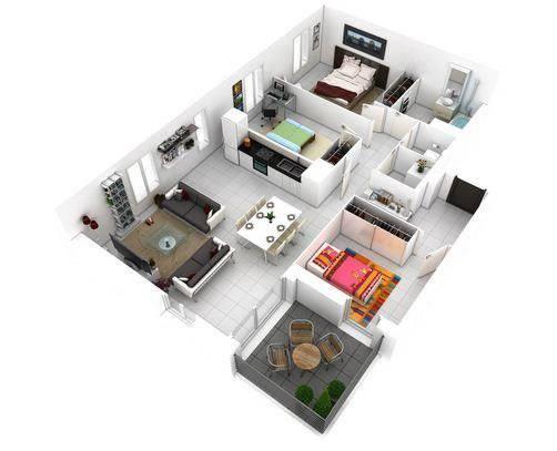 家庭内部3D想法截图4
