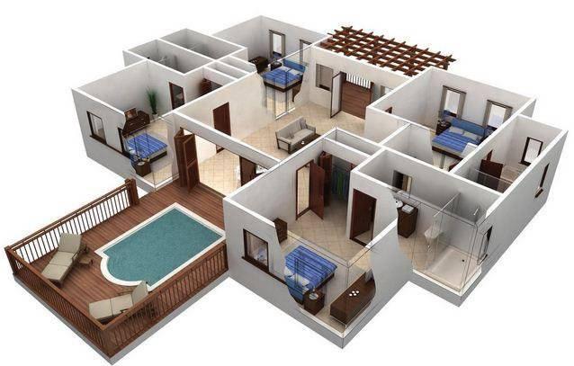 家庭内部3D想法截图5