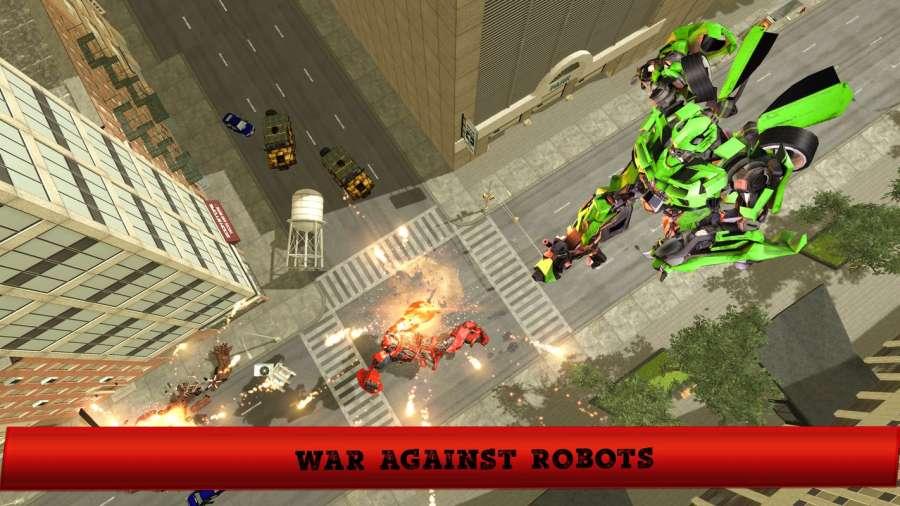未来飞行机器人变形城市救援截图1