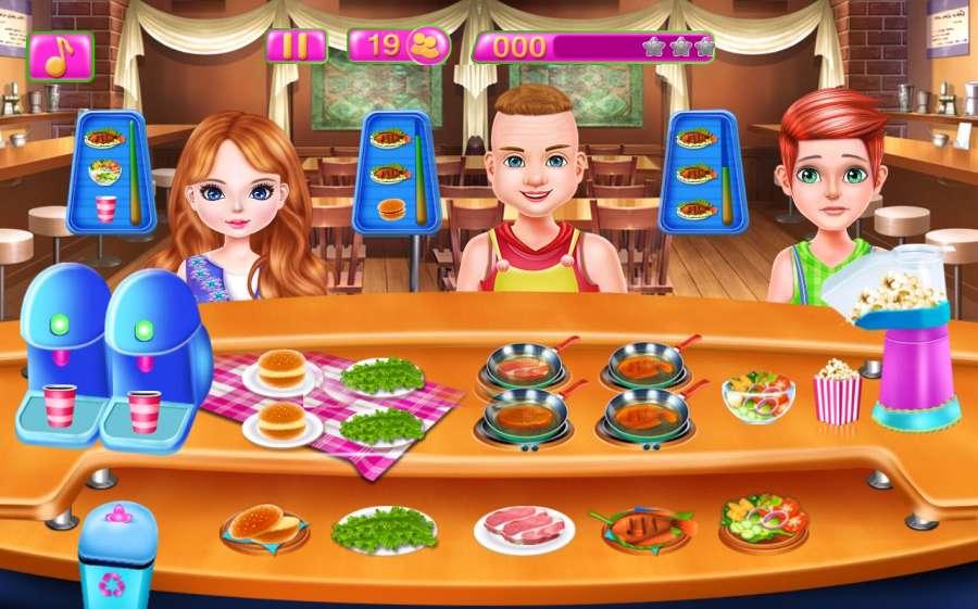 餐厅厨师烹饪游戏截图2