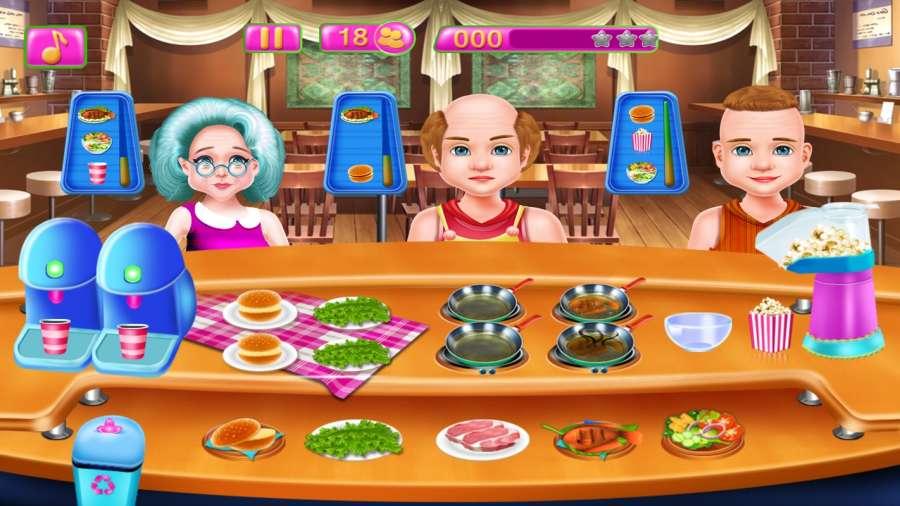 餐厅厨师烹饪游戏截图6
