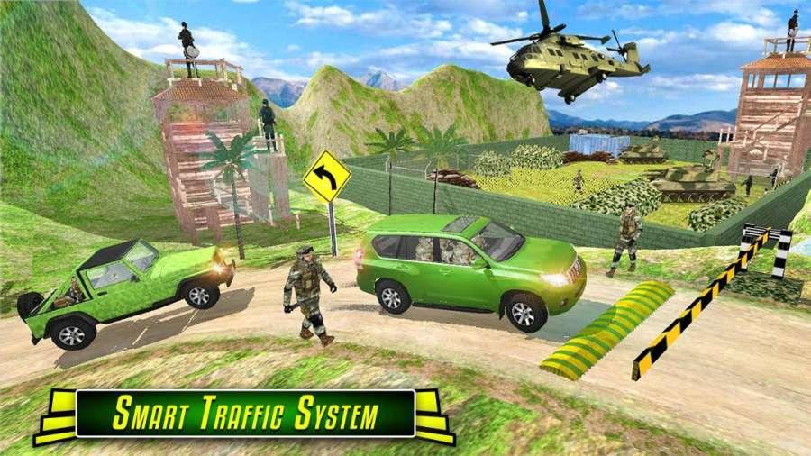 我们 军队 运输 义务 模拟器