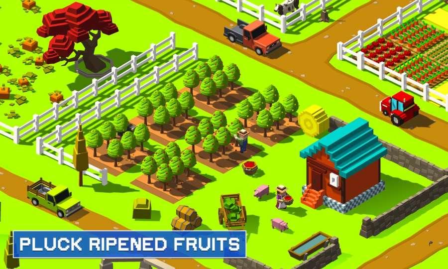 农民村2:建设农场和收获城市模拟