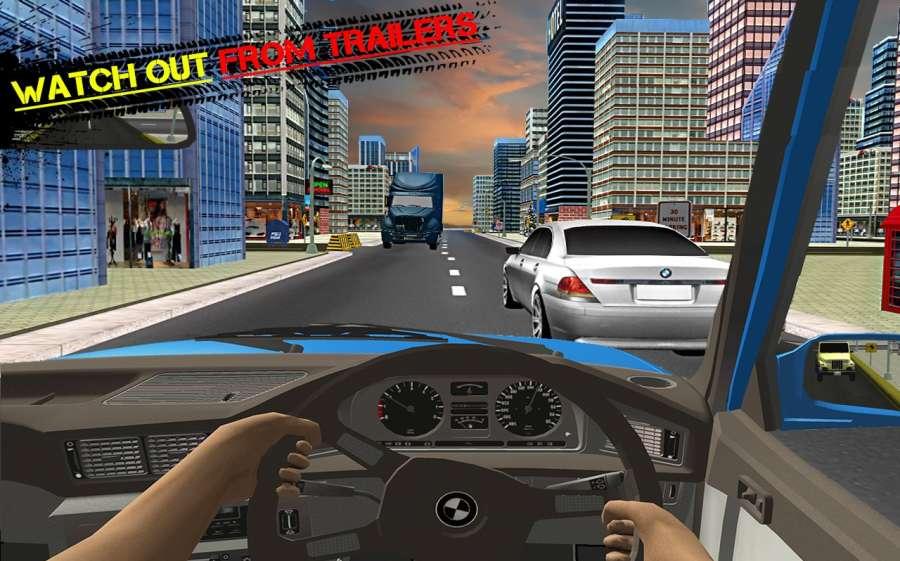 汽車 交通 駕駛: 汽車 在 賽跑 模擬器