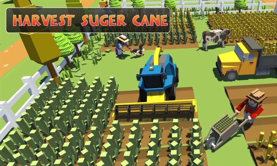 农场勘探:建设村庄收获模拟器截图0