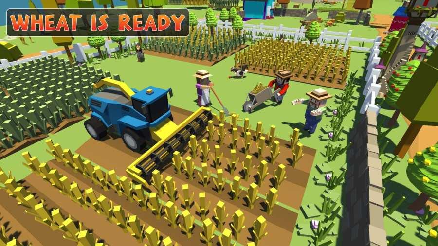 农场勘探:建设村庄收获模拟器截图1