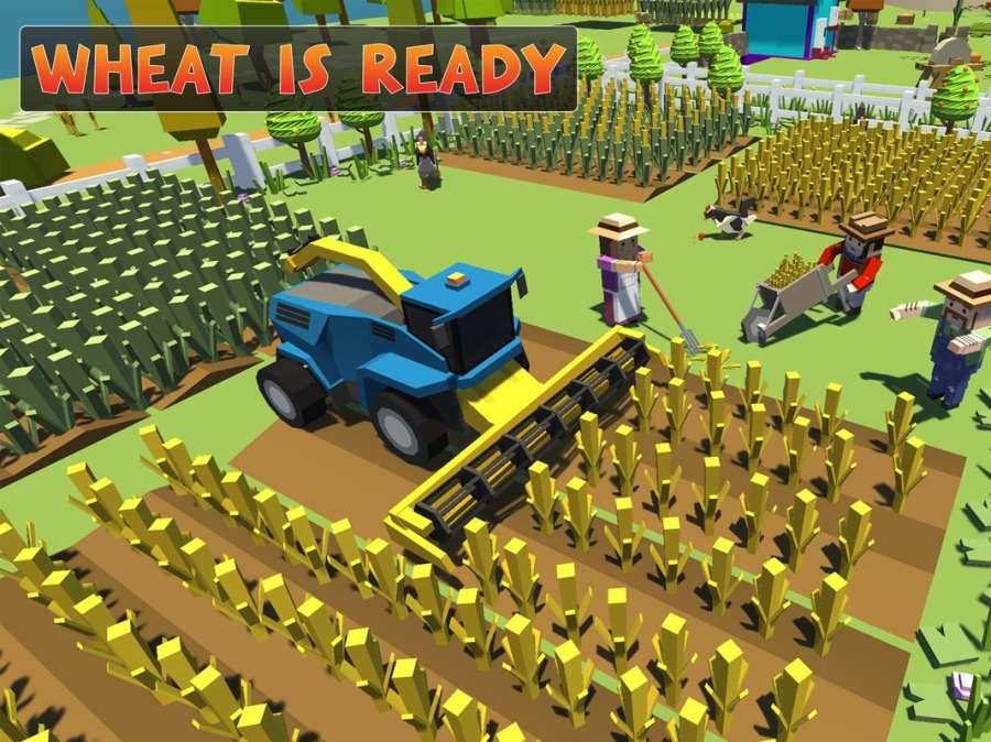 农场勘探:建设村庄收获模拟器截图10