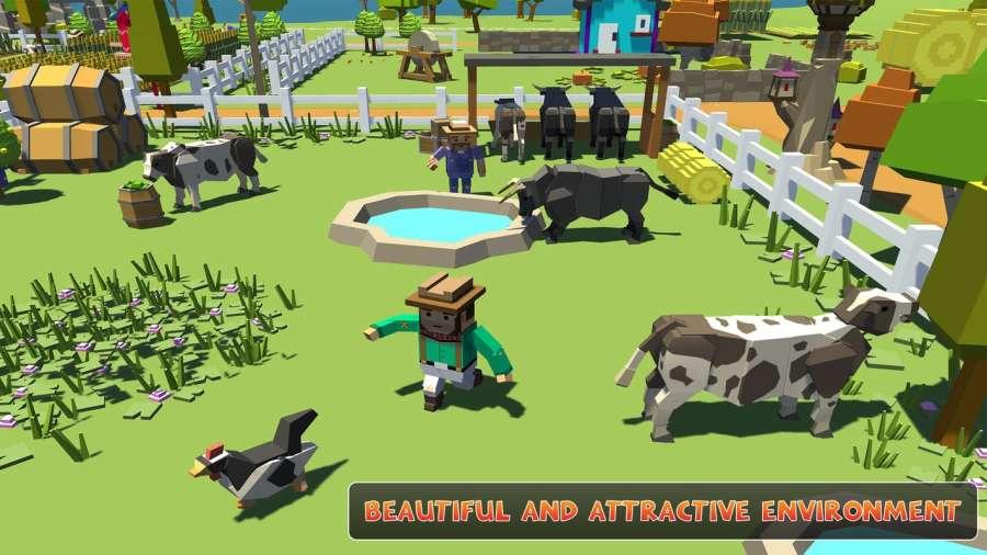 农场勘探:建设村庄收获模拟器截图2