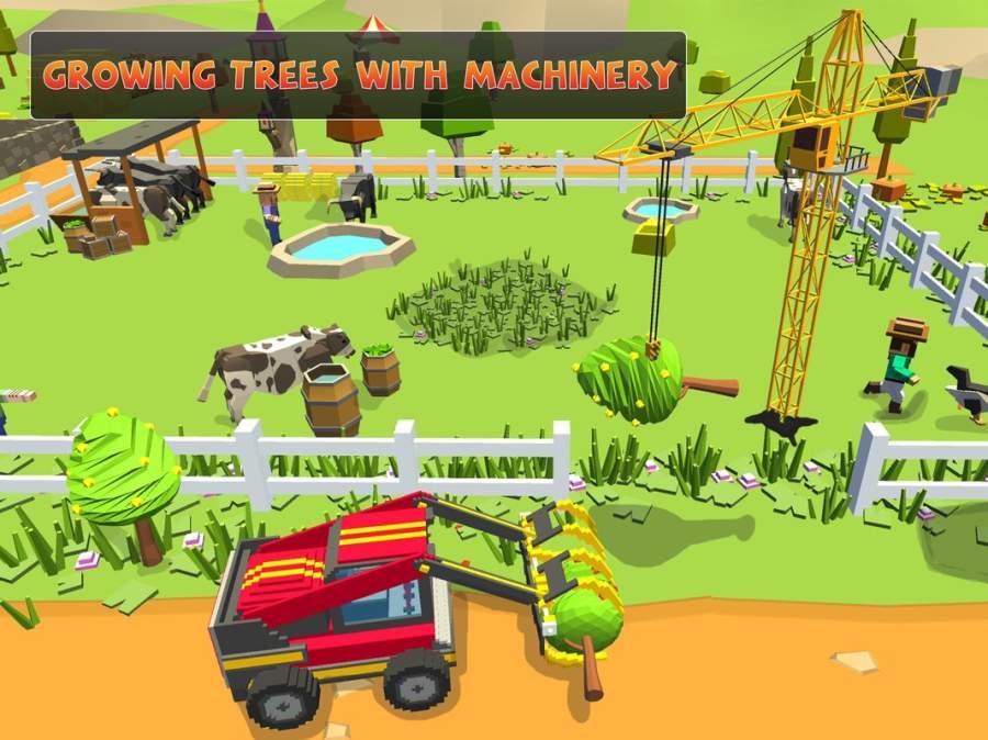 农场勘探:建设村庄收获模拟器截图3