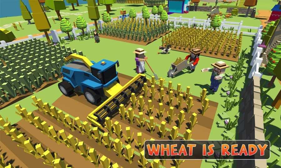 农场勘探:建设村庄收获模拟器截图4
