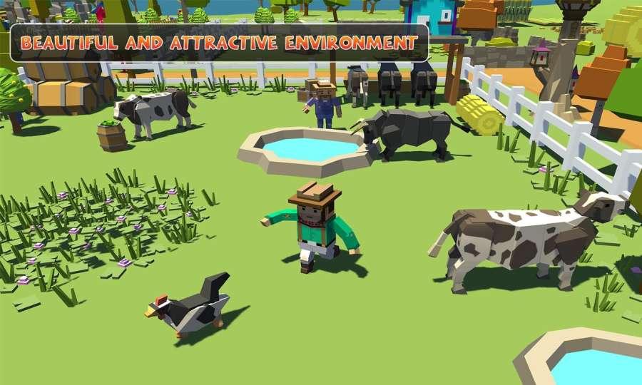 农场勘探:建设村庄收获模拟器截图8