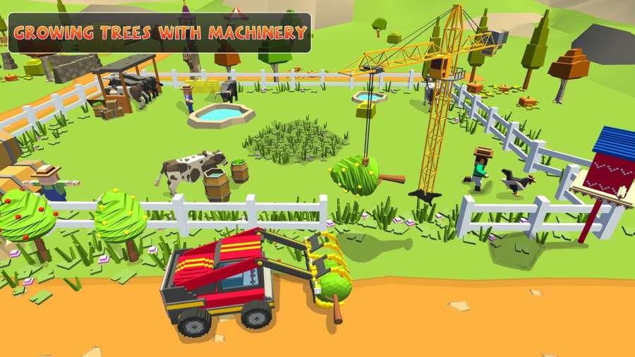 农场勘探:建设村庄收获模拟器截图9