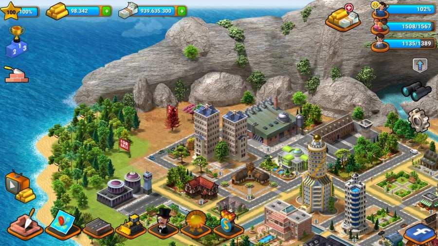 热带天堂:小镇岛 - 城市建造模拟游戏截图5