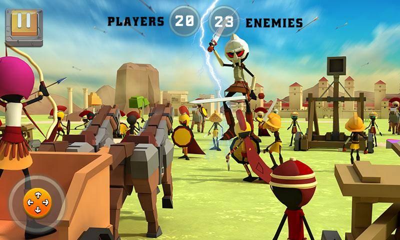 罗马之役:战争模拟器截图0