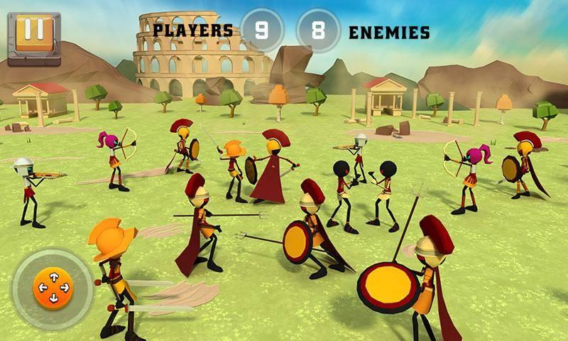 罗马之役:战争模拟器截图1