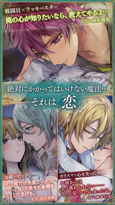 美男革命◆爱丽丝与恋之魔法截图2