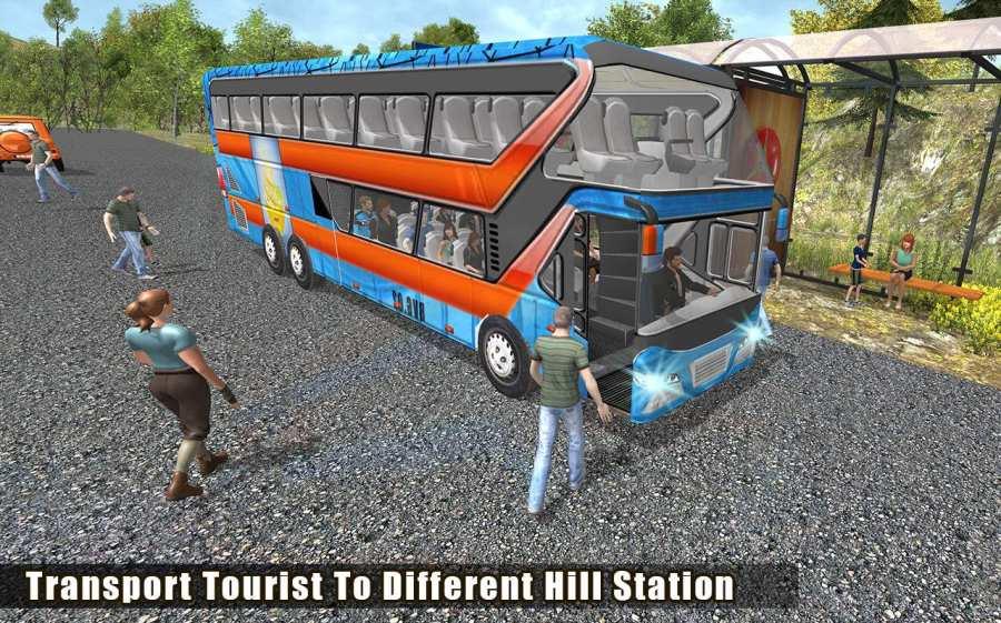 越野巴士模拟器3D:旅游巴士截图2