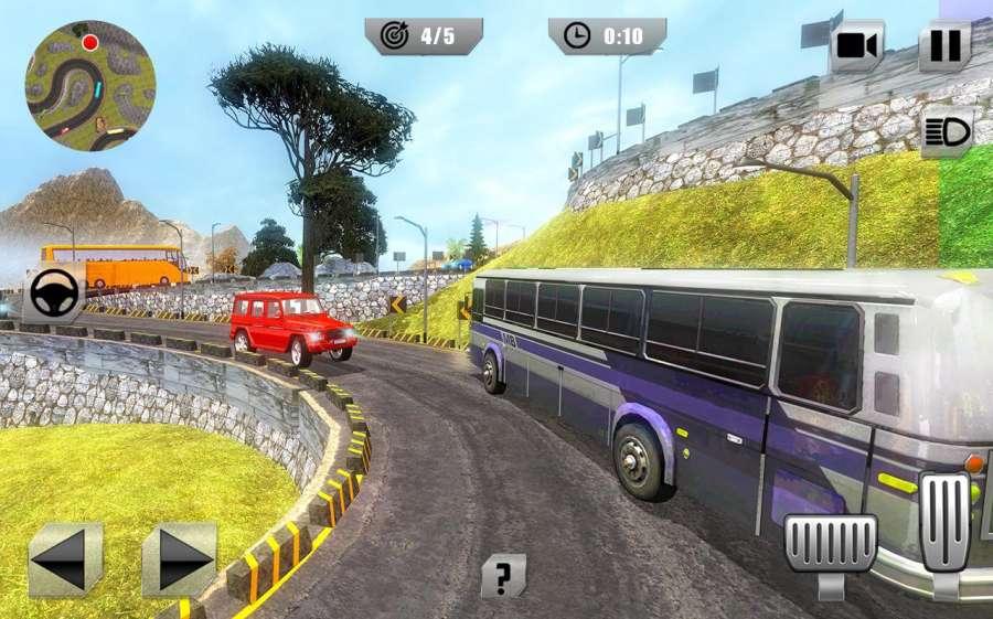 越野巴士模拟器3D:旅游巴士截图4