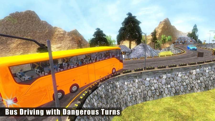 越野巴士模拟器3D:旅游巴士截图8