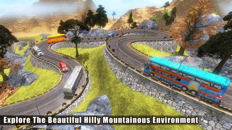 越野巴士模拟器3D:旅游巴士截图9