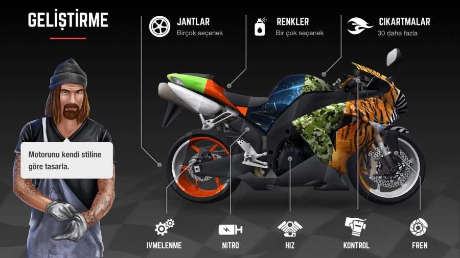 Racing Fever: Moto截图4