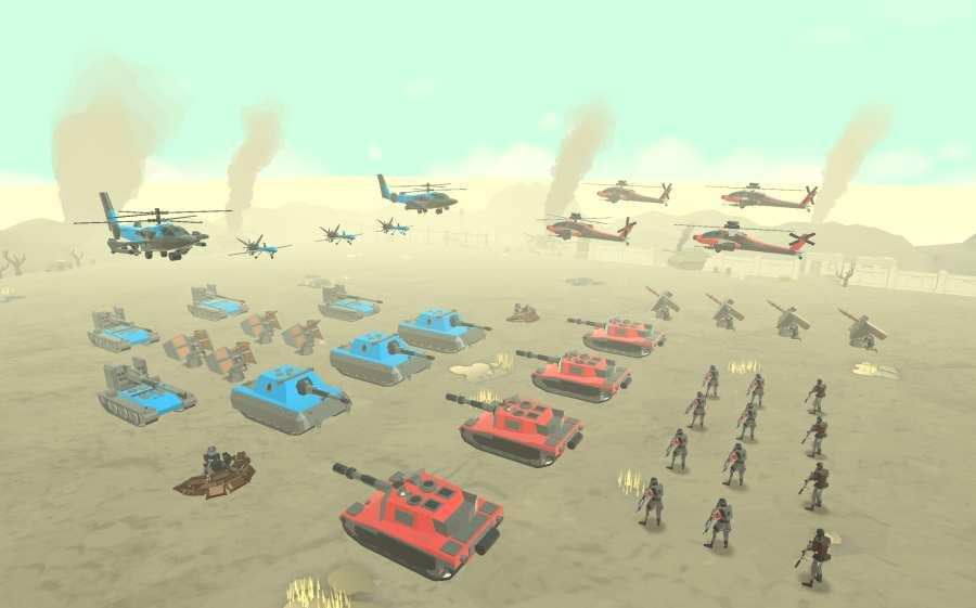 军队战争模拟器截图1