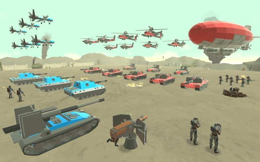 军队战争模拟器截图2