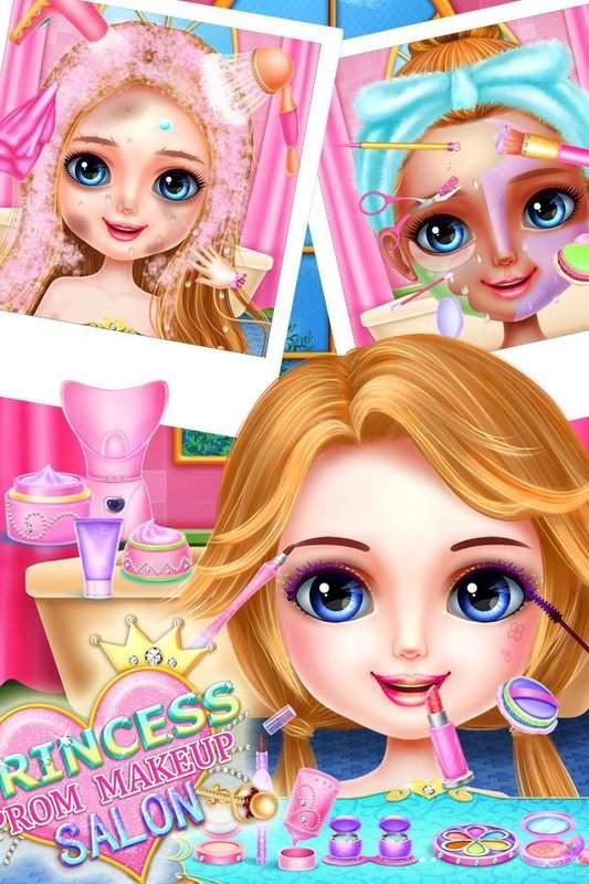 公主舞會化妝沙龍 - 頂級女孩遊戲截图4