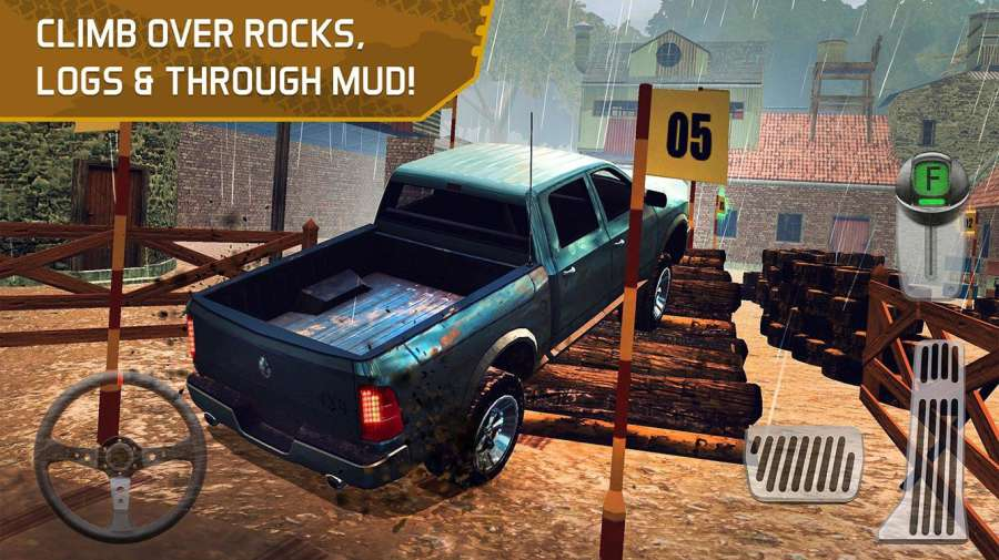 4x4 Dirt Offroad Parking截图9