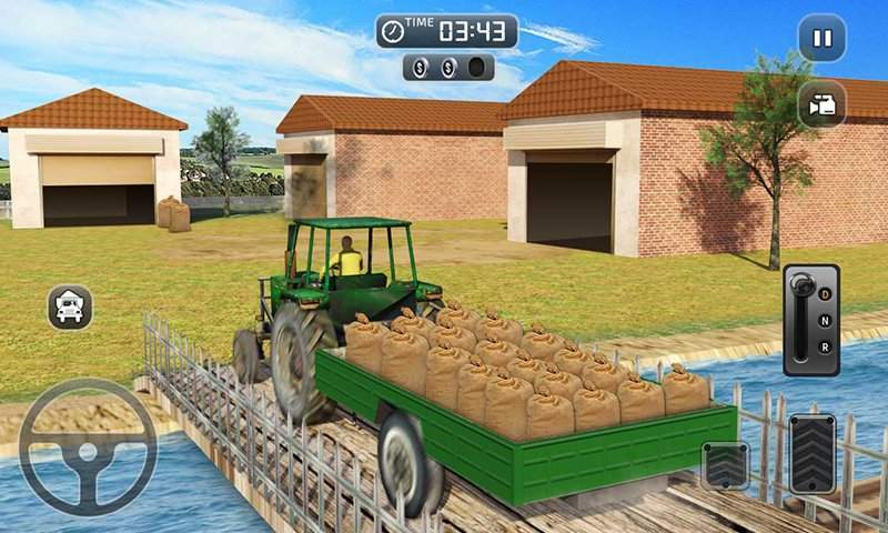 真实 农业 模拟器 农场 卡车 行车 学校截图0
