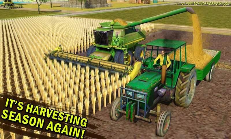 真实 农业 模拟器 农场 卡车 行车 学校截图2