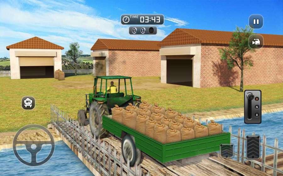 真实 农业 模拟器 农场 卡车 行车 学校截图6