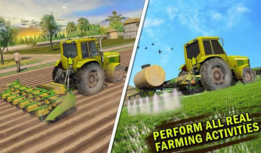 真实 农业 模拟器 农场 卡车 行车 学校截图7