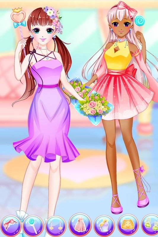 Anime Princess Makeup Salon - dress up截图2