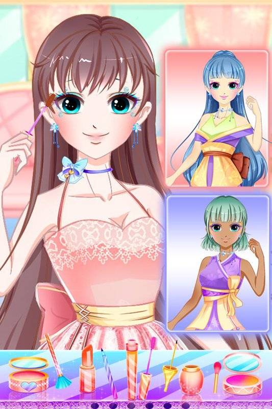Anime Princess Makeup Salon - dress up截图3