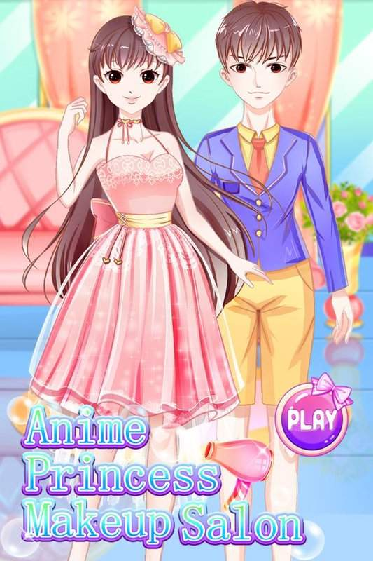 Anime Princess Makeup Salon - dress up截图4