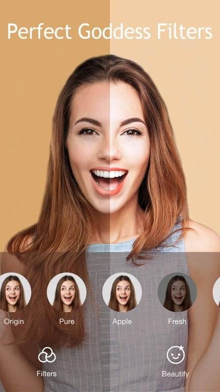 JustShot - AR Selfie camera,Motion Face sticker截图0