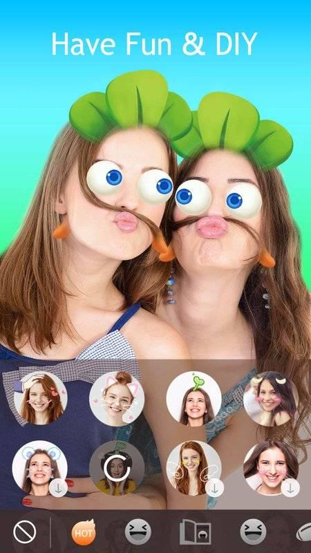 JustShot - AR Selfie camera,Motion Face sticker截图2