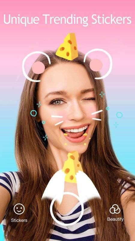 JustShot - AR Selfie camera,Motion Face sticker截图3