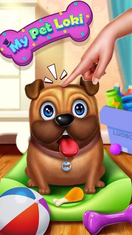 小狗洛基 – 模拟宠物截图0
