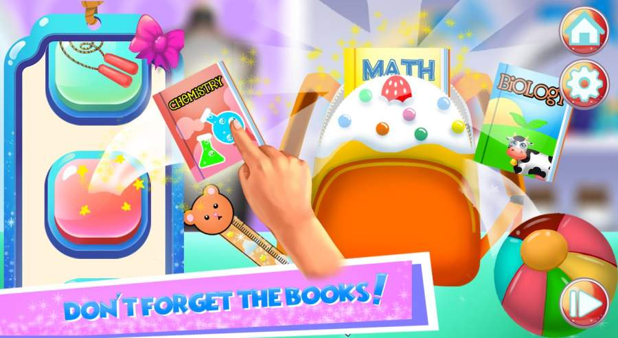 孩子上学游戏 - 第一天截图2