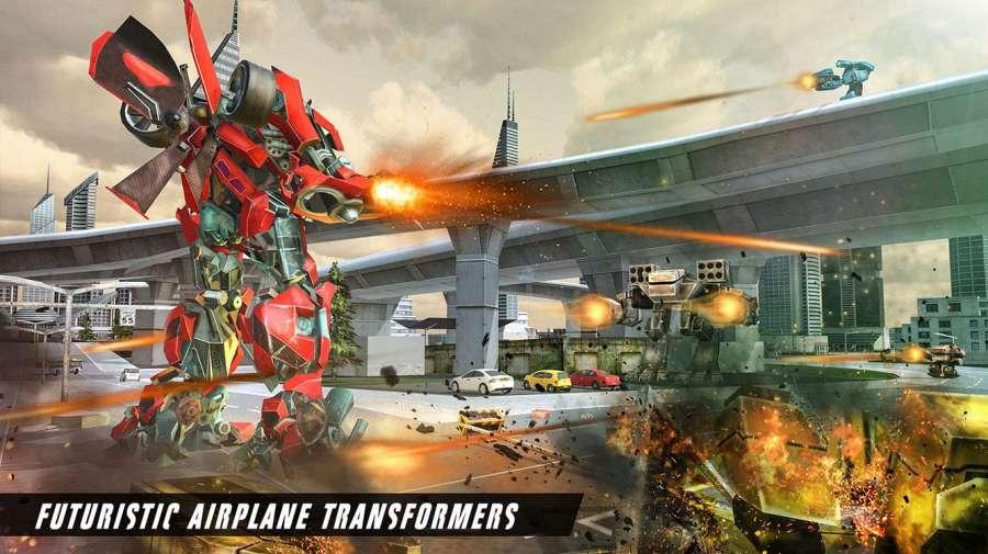 未来飞机机器人转型战争截图1