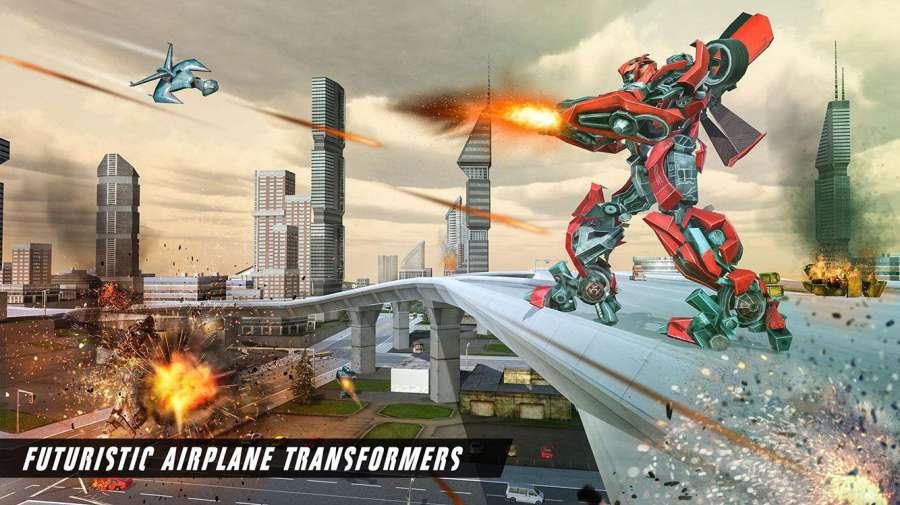 未来飞机机器人转型战争截图2