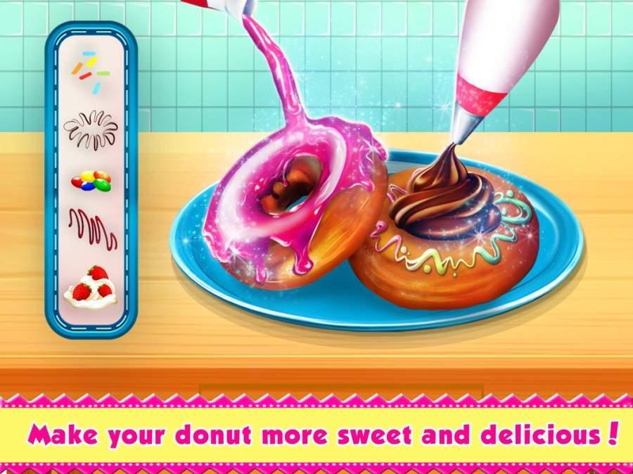 甜 甜甜圈 店 -  童装 烹饪 游戏