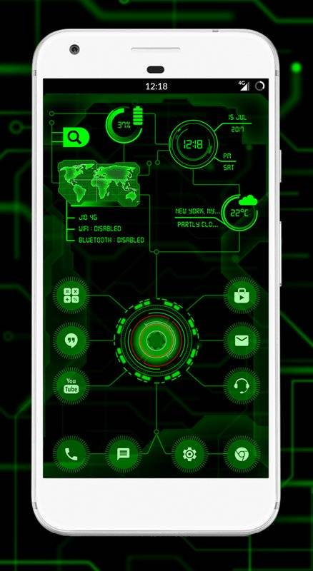 Circuit Launcher - Next Generation theme, fast