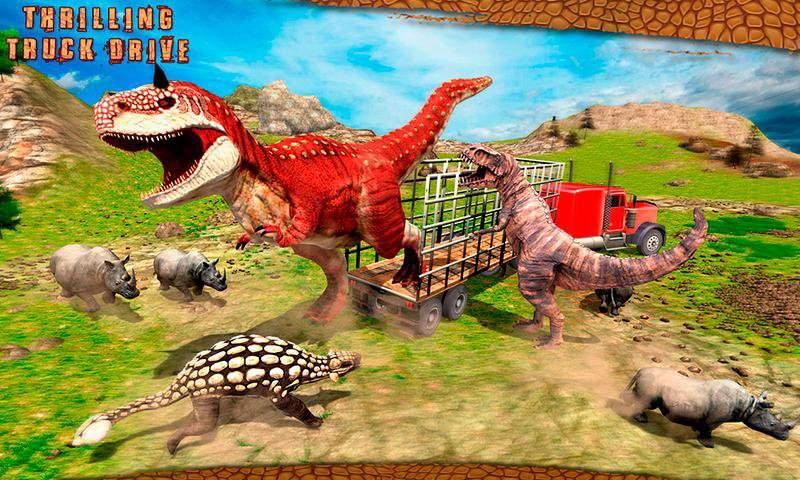 怪物恐龙越野运输卡车冒险截图10