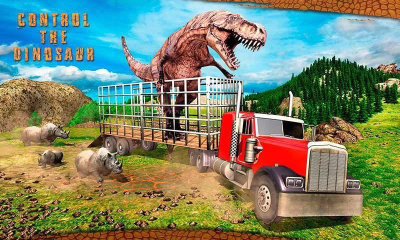怪物恐龙越野运输卡车冒险截图2