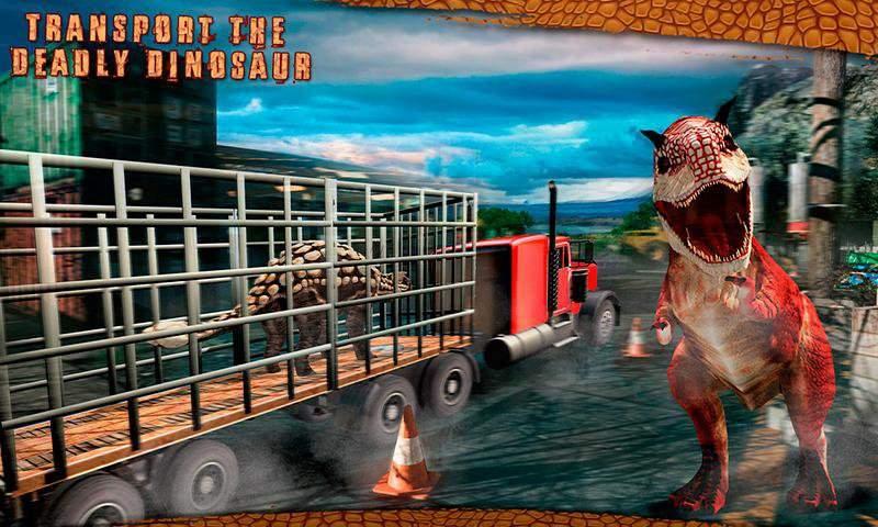 怪物恐龙越野运输卡车冒险截图4