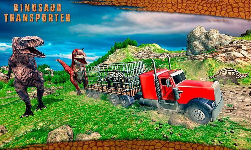 怪物恐龙越野运输卡车冒险截图6